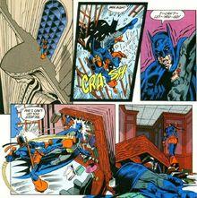 Deathstroke beats batman