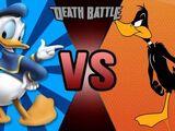 Donald Duck vs Daffy Duck