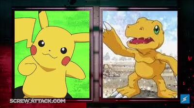 Pikachu Agumon Set