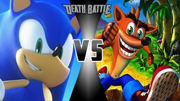 Sonic vs crash