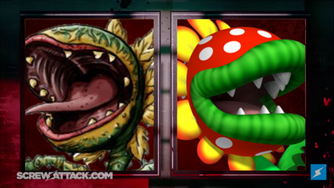 Audrey II vs Petey Piranha Intermission