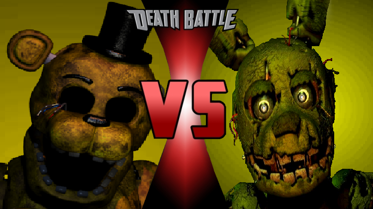 Springtrap VS Golden Freddy