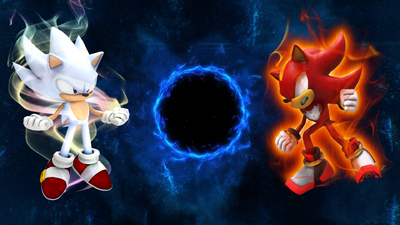 Hyper sonic vs chaos super shadow