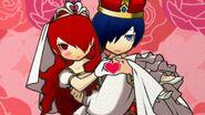 Mitsu & P3 Protag Wedding