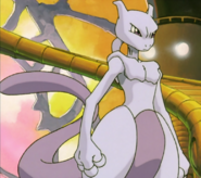 Pokémon - Mewtwo has he appears in Pokémon The First Movie
