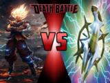 Goku VS Arceus
