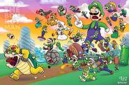 Luigi Power-ups