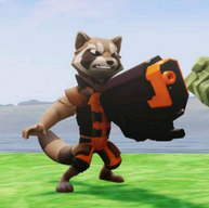 Rocket Raccoon in Disney Infinity 2