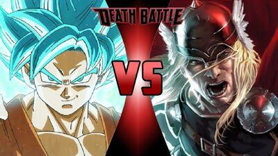 What-if Death Battle Goku vs. Thor