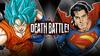 Goku VS Superman V2 (Sharaku)