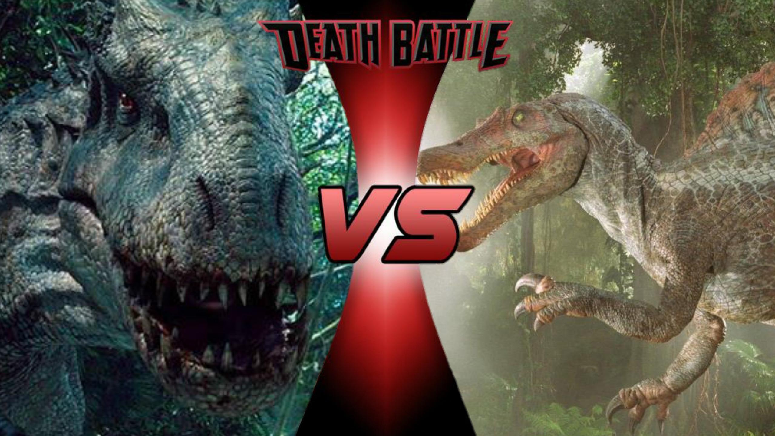 Indominus Rex VS Spinosaurus   Death