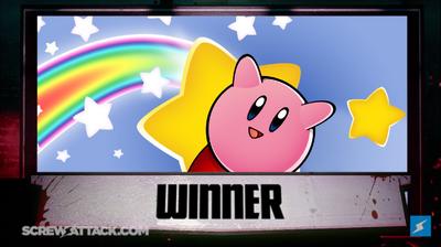 Kirby wins