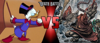 Sold scrooge mcduck vs master splinter by doctormoodb-dayuz00