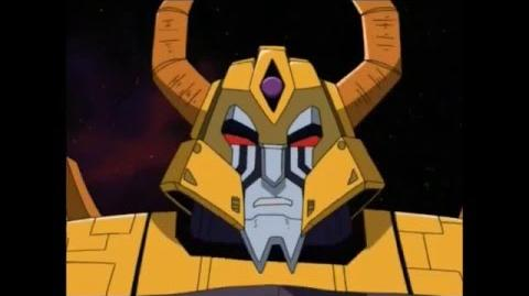 Transformers Armada Unicron explains why you can't kill him easily