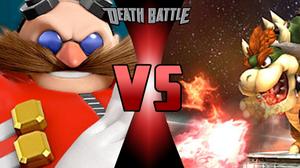 Dr. Eggman (Sonic the Hedgehog) X Bowser (Super Mario Bros.)