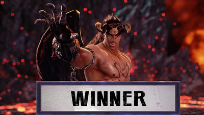 Devil Jin Wins