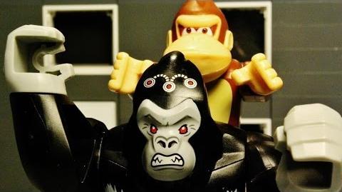 LEGO King Kong vs Donkey Kong
