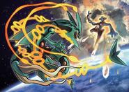 Pokémon ORAS Mega Rayquaza VS Deoxys