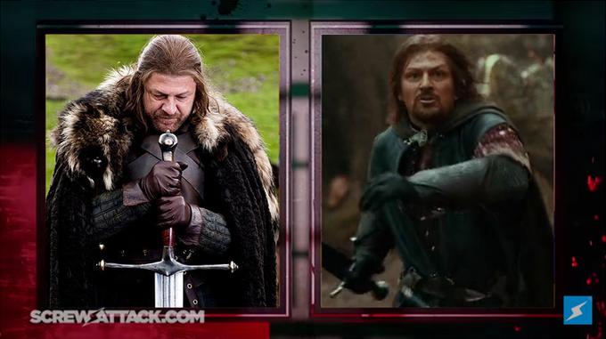 Pre Fight Eddard Stark vs Boromir 01