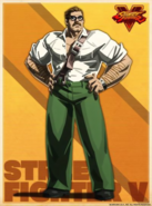 Street Fighter - Mike Hagger as he appears in Street Fighter V