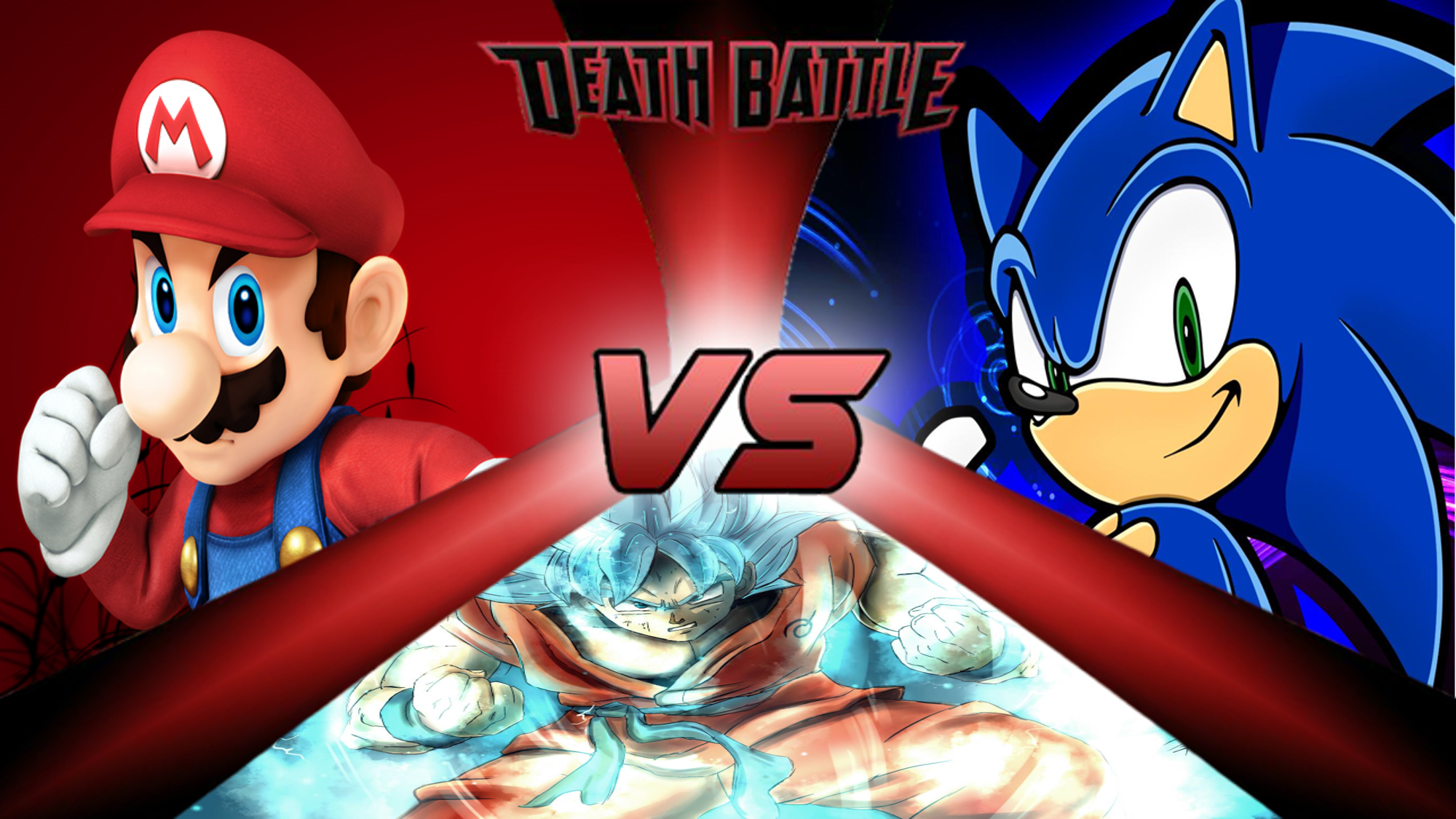Mario Vs Goku Vs Sonic Death Battle Fanon Wiki Fandom Powered By