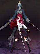 Persona 3 Mitsuru & Pentheselia
