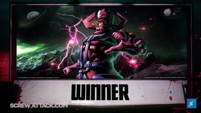 Galactus wins