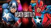 Captain America vs Commander Steel