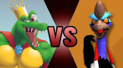 King K Rool vs Boss Cass