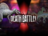 Spinosaurus vs Raptor Squad