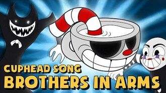 CUPHEAD SONG (BROTHERS IN ARMS) LYRIC VIDEO - DAGames-0