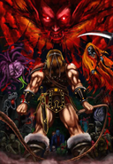 Castlevania - Simon Belmont against The Creatures of The Night