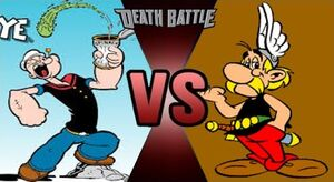 Popeye vs asterix