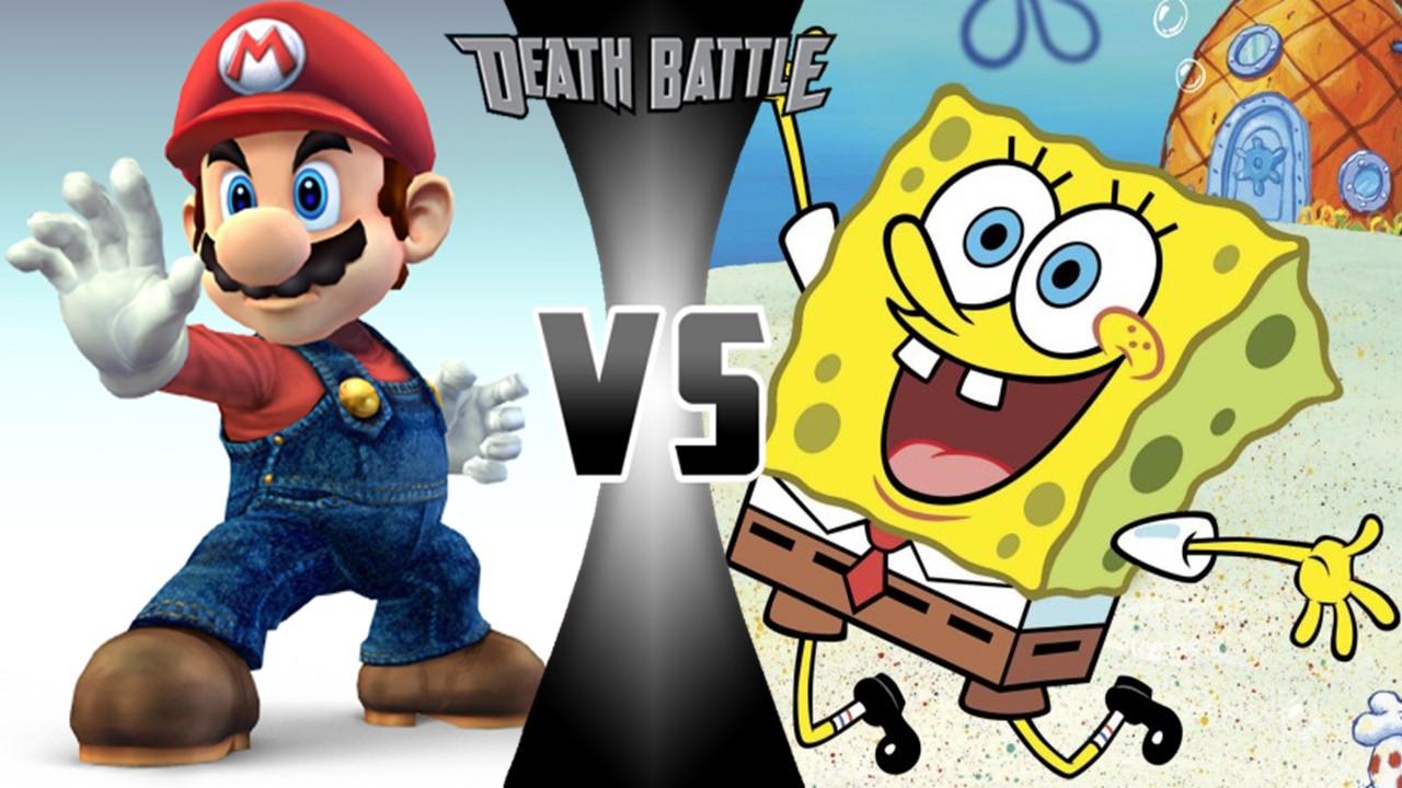 mario vs spongebob squarepants death battle fanon wiki fandom