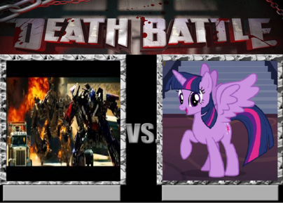 Optimus vs Twilight