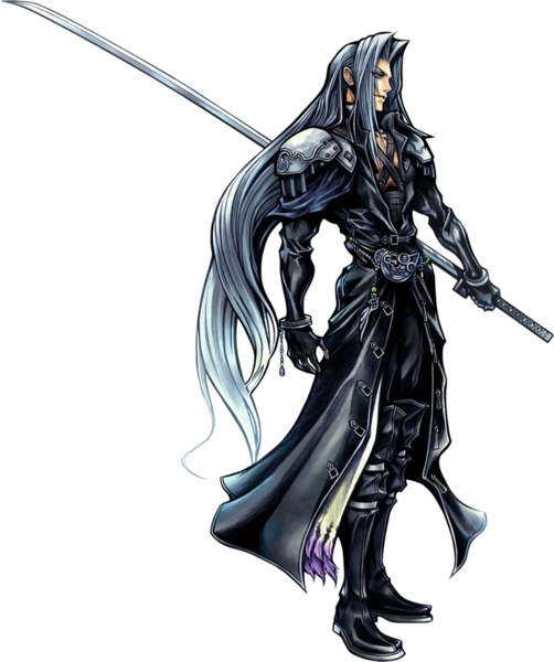 Sephiroth render by sarah 273-d4zz823