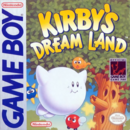 Kirby - Kirby as seen on the front box art cover of Kirby's Dream Land for Game Boy