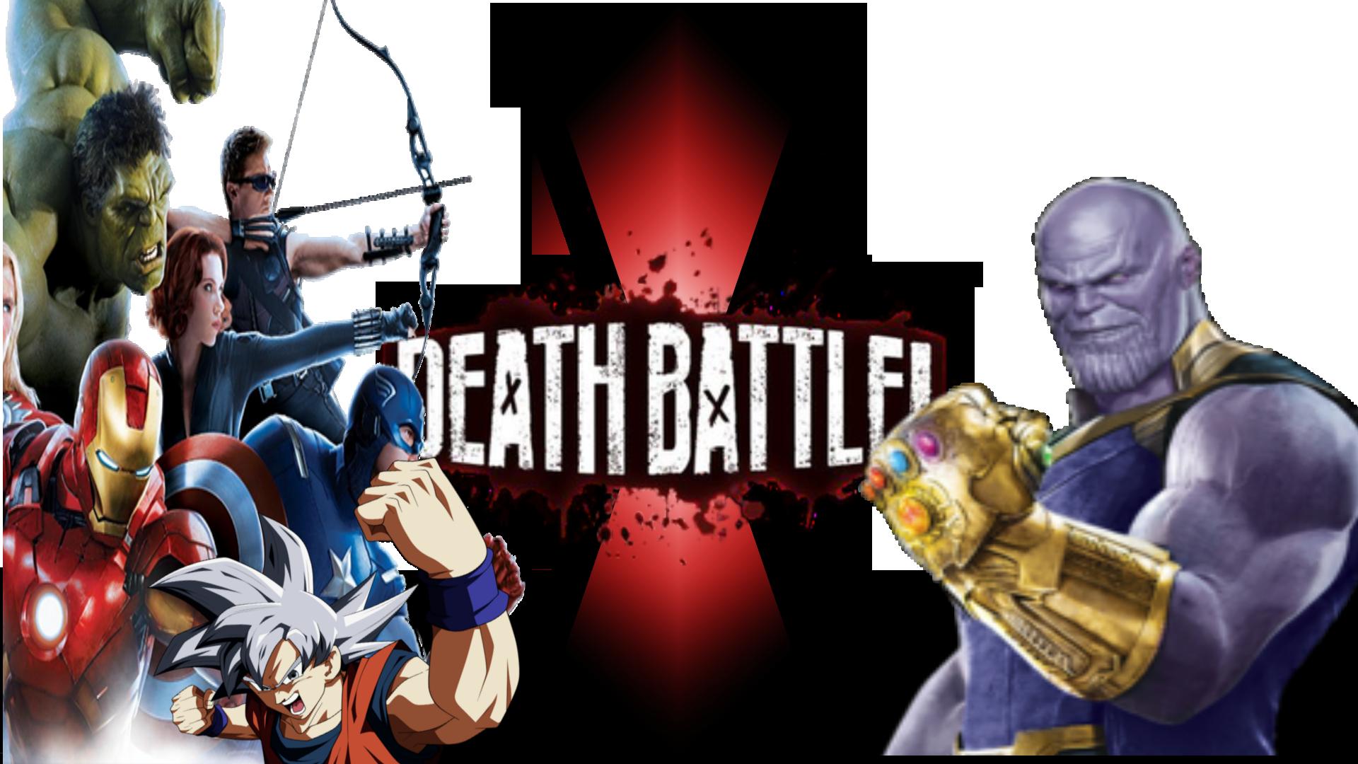 Goku Vs Thanos: Avengers (Movie) And Goku Vs Thanos (Movie)