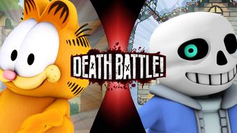 Garfield Vs Sans Death Battle Fanon Wiki Fandom