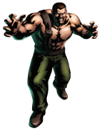 Final Fight - Mike Hagger as he appears in Marvel vs Capcom 3