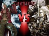 Dante vs. Alucard (Castlevania)