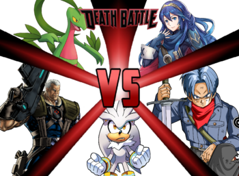 Grovyle VS Lucina VS Trunks VS Silver VS Cable