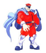 Street Fighter - M Bison as seen in Street Fighter Alpha 2