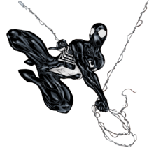 Black-suit-spider-man