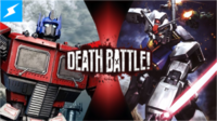DEATH BATTLE! - Optimus Prime VS Gundam