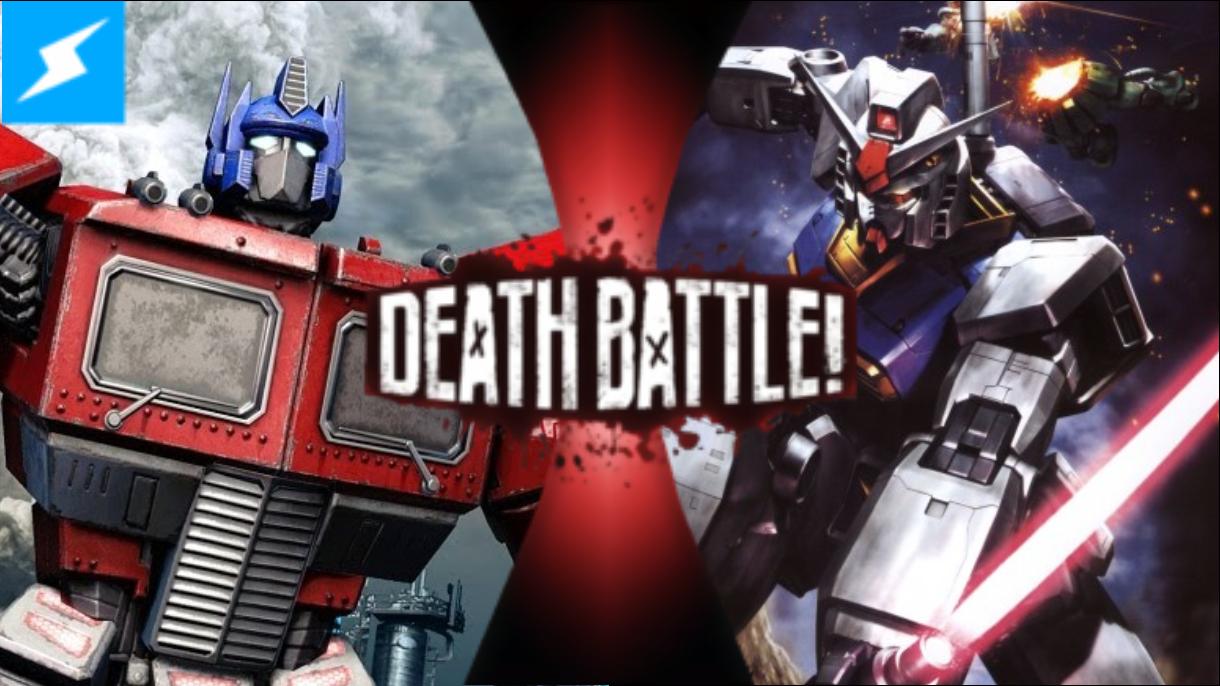 optimus prime vs. rx-78-2 gundam | death battle fanon wiki | fandom