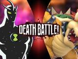 Bowser vs Alien X