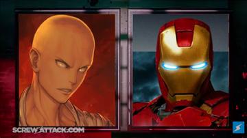 Saitama vs iron man set