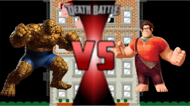 Wreck-it Ralph Vs  The Thing | Death Battle Fanon Wiki | FANDOM