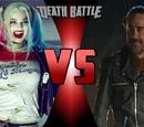 Negan VS Harley Quinn